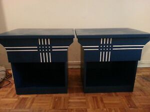 Bedside Tables - Selling cheap! They've gotta go!