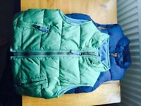 2 x Boys body warmers Next and Boden. aged 2-3 years - excellent condition