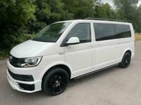 2018 Volkswagen Transporter T6 TDI 9 SEAT SHUTTLE SE LWB IN CANDY WHITE - EURO S