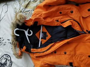 Authentic Canada Goose Kensington Parka - Sweet Orange
