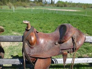 high quality roping saddle