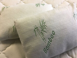 HYPOALLERGENIC BAMBOO PILLOWS FOR ONLY $48.00 Regina Regina Area image 2