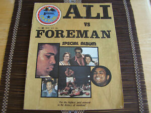 Muhammad Ali vs George Foreman Special Album 1974 Kitchener / Waterloo Kitchener Area image 1