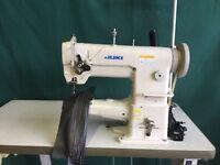Juki Japan 341 walking foot cylinder arm industrial sewing machine
