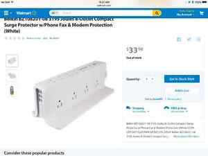 Surge protection power bars, adapters