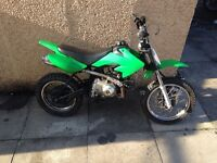 Pit bike 50cc fast for a 50 £250