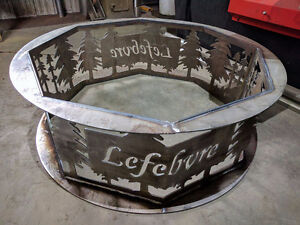 Custom Metal Fire Pits