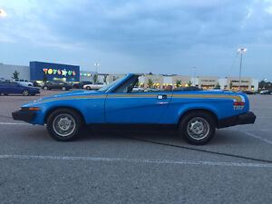 1980 Triumph TR7 Convertible for sale - low km, all original