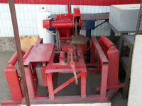 """General Electric 15 HP. 20"""" hot saw"""