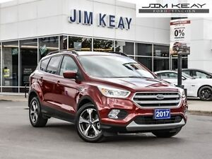 2017 Ford Escape SE  - Bluetooth -  Heated Seats - $102.67 /Week