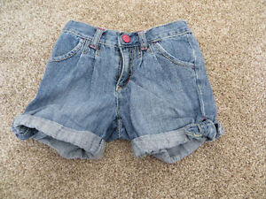 4 pairs girls size 5 shorts 1 pair size 6 $16 for all 5 pairs.
