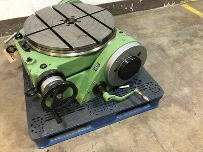 24 Walters Model Rs 630 Precision Tilting Rotary Table