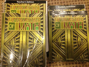 BJU Fundamentals of Math (Grade 7)