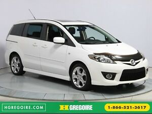 2009 Mazda 5 GT AUTO A/C GR ELECT TOIT MAGS BLUETOOTH