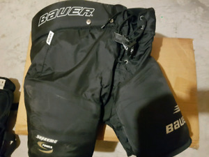 Bauer supreme hockey pants size large