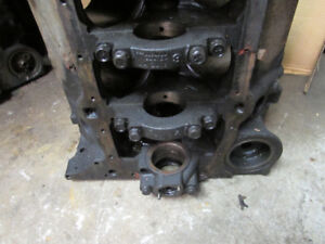 350 Chevrolet 4 bolt mains block