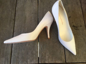 White Heels - Mint Condition! Sacha London, Sizes 40 (9.5-10)