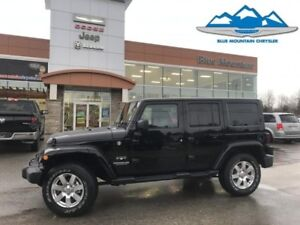 2017 Jeep Wrangler Unlimited Sahara  ACCIDENT FREE, DEALER DEMO