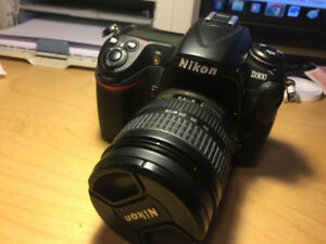 Ex++++ Nikon D300 camera body and 18-70 DX ED 3.5-4.5 G