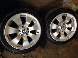 "BMW alloys 225/45/17"" e 90"