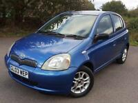 2003 Toyota Yaris 1.0 VVT-i Colour Collection 5dr