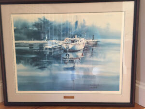"Brent Heighton framed print ""Still Waters"""