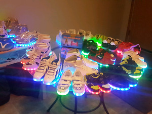 Bunch of lightup shoes for all sizes