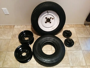 Used Tires, Rims, & Hubs
