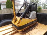 wacker plate compactor with a reverse