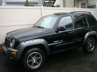 2003 JEEP LIBERTY PARTS ONLY