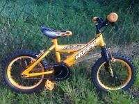 Boys 14 inch bike kids bicycle