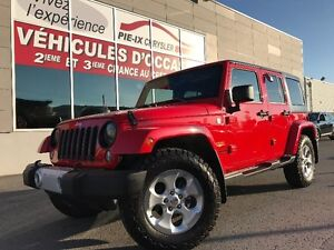 Jeep Wrangler Unlimited 4WD 4dr Sahara+MAGS+2TOIT+A/C+GR.ELEC+WO