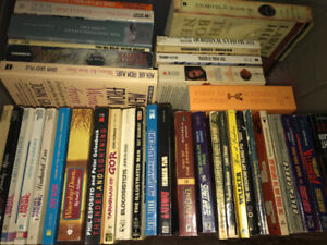 BOOK SALE $1 HARDCOVER $.50 SOFT COVER OVER 500 BOOKS TO CHOOSE