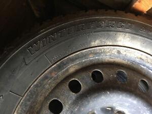 Pneus d'hiver / winter tire & rim