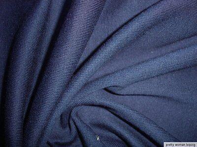1 Lfm Strickstoff 4,30€/m² dunkelblau JC4