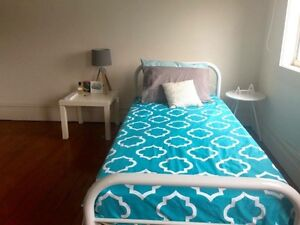 Single bed+ 2 night tables and lamp Sydney City Inner Sydney Preview