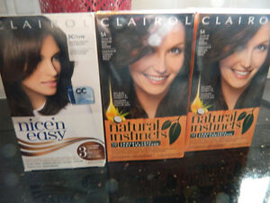 (3) BOXES OF NEW BROWN HAIR COLOUR