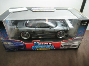 Toy Diecast Car 1 18 Machines Muscle Tuners 03 Acura NSX Model