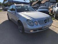 2004 Mercedes-Benz E Class 2.7 E270 TD CDI Elegance 4dr
