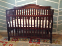 Delta crib, fully adjustable