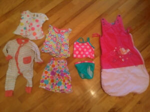 Girl baby clothes 0 @ 24 months / Vetements fille pour bebe 0 @