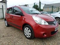 Nissan Note 1.6 16V VISIA (red) 2009