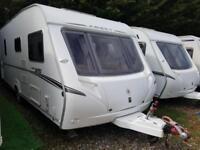 2006 Abbey GTS 418 4 Berth Fixed Bed Caravan