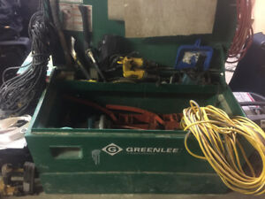 Greenlee tool box
