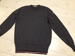 Moncler cardigan sweater 100% wool authentic