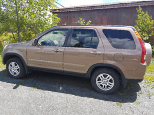 2003 Honda CRV all wheel drive ONE OWNER