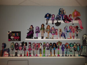 Collection Monster high et Ever after High