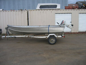 12' Thornes with '83 Evinrude 15 hp.