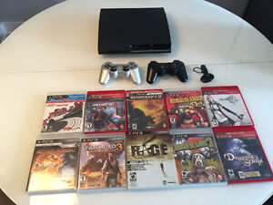 Ps3 320go - 10 jeux - 2 controllers