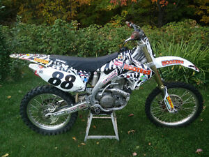 2006 CRF 450 R Lots of extras